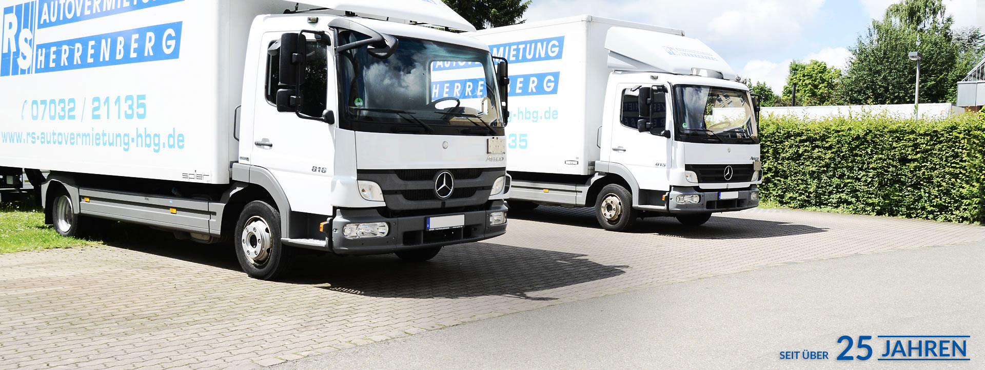 sprinter mieten stuttgart langer miet service gmbh lkw vermietung in plochingen bei mercedes. Black Bedroom Furniture Sets. Home Design Ideas